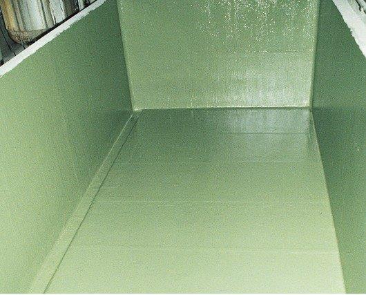 Impermeabilização em caixa de água