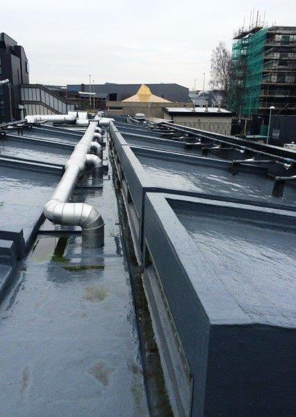 Impermeabilização com manta liquida
