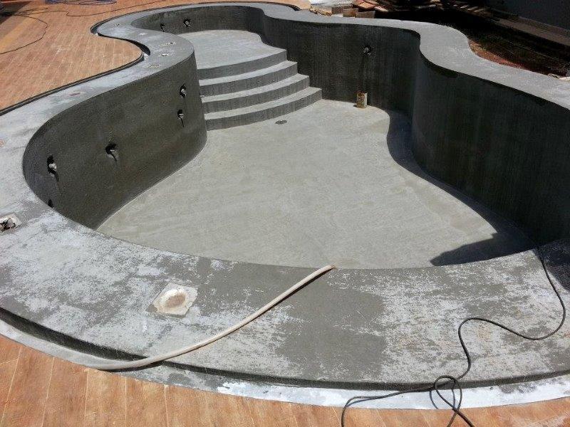 Impermeabilização de piscinas com manta asfáltica