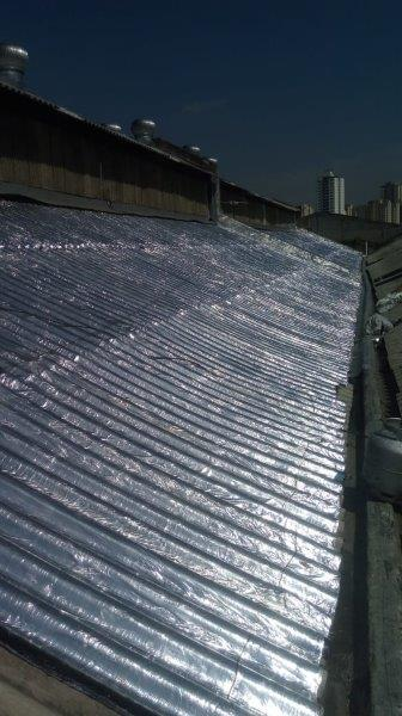 Isolamento térmico para lajes de concreto