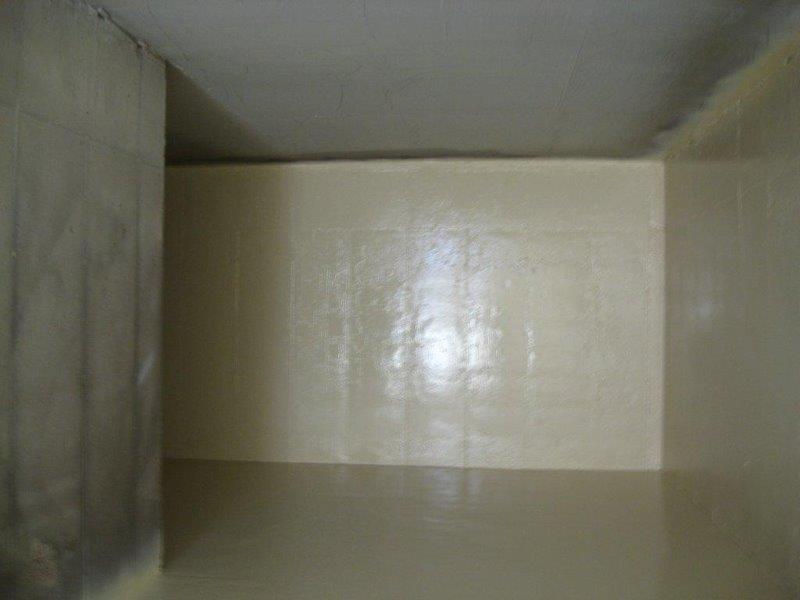 Impermeabilização em caixa de água de condomínio