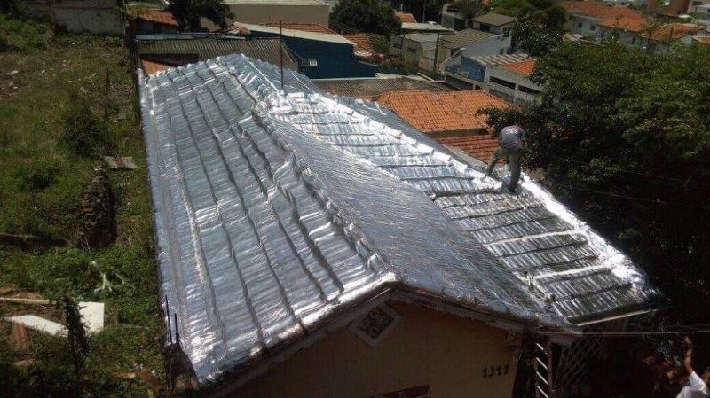 Manta para telhado