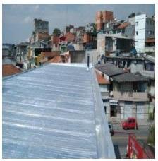 Serviço de impermeabilização de telhados