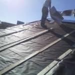 Serviço de impermeabilização com manta asfáltica