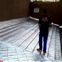 Impermeabilização com Manta Aluminizada